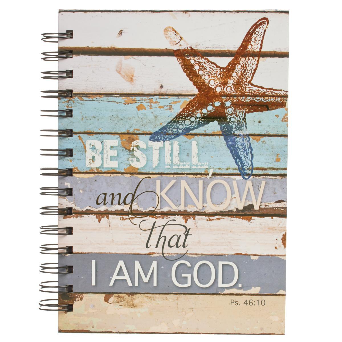 Journal Wirebound Starfish Be Still (Hardcover)