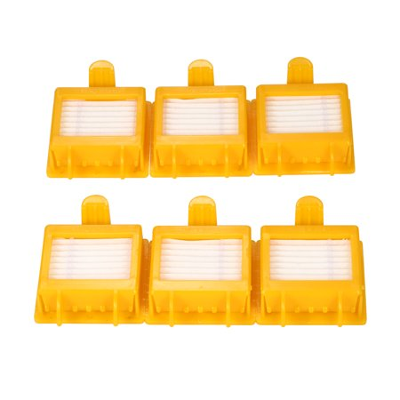 bf9d243811b 6pcs HEPA Filters Replacement Accessories Kit Replenishment for iRobot  Roomba 700 Series 700 760 770 780 ...