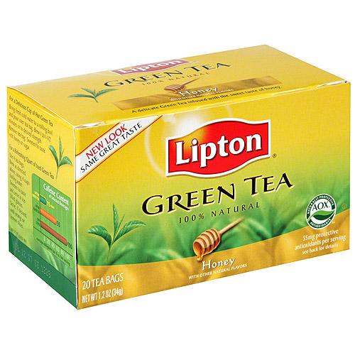 Lipton Honey Green Tea, 20ct (Pack of 6)