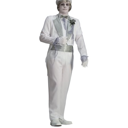 Mens Deluxe Ghostly Spirits Victorian Ghost Groom Costume Standard 42-44 - Victorians Costumes