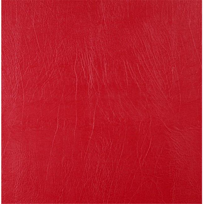 Designer Fabrics G726 54 in. Wide , Red, Solid Outdoor Indoor Marine Vinyl