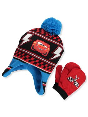 cd26024ea1f Product Image Disney Cars 3 Boys  Beanie   Mittens Set (Toddler One ...