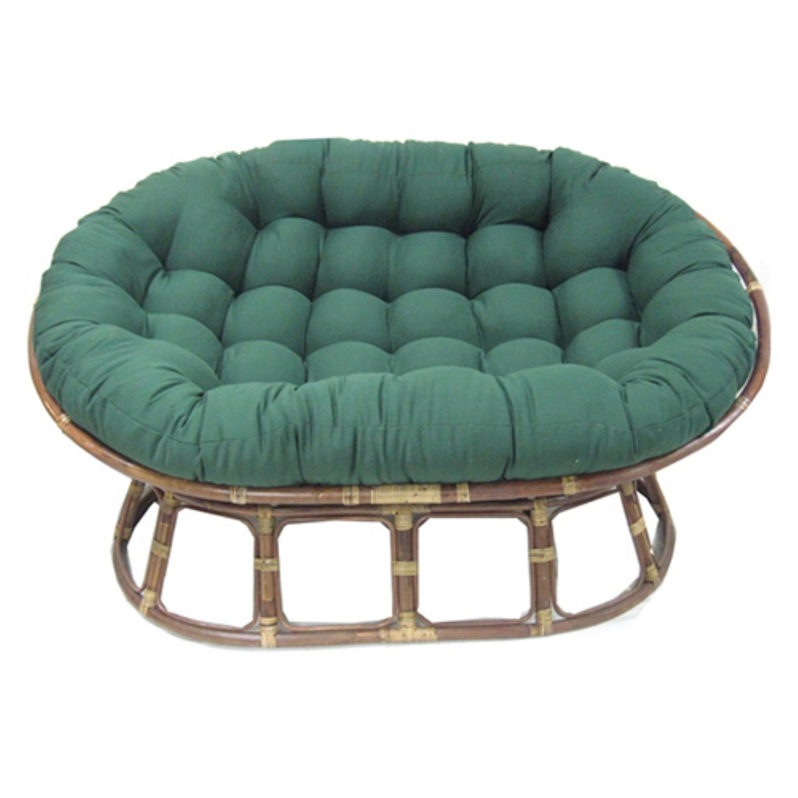 Blazing Needles 78 x 58 in. Oversize Double Papasan Solid Twill Cushion