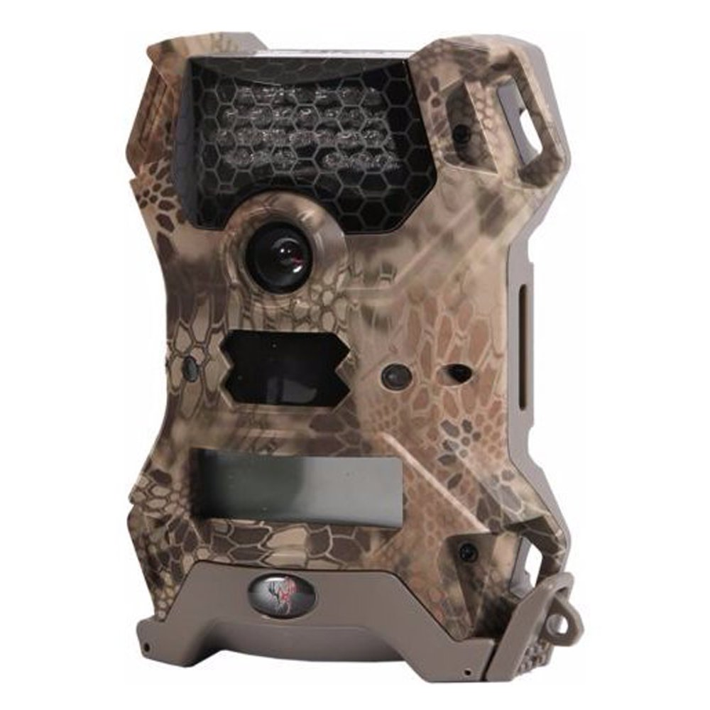 Wildgame Innovations Vision Lightsout 12MP Video IR Hunting Game Camera, Kreptek