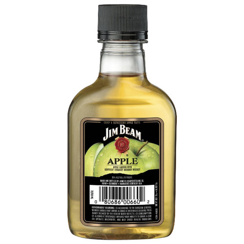 Jim Beam Apple Kentucky Straight Bourbon Whiskey, 100mL