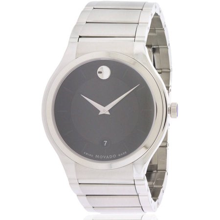 Movado Quadro Stainless Steel Men's Watch, 0606478