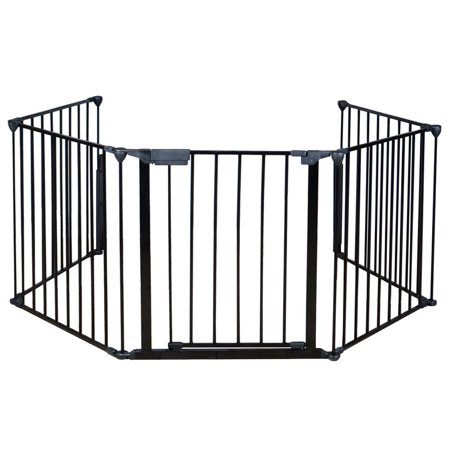 Tms 30 Quot H Metal Fireplace Baby Safety Fence Hearth Gate Bbq