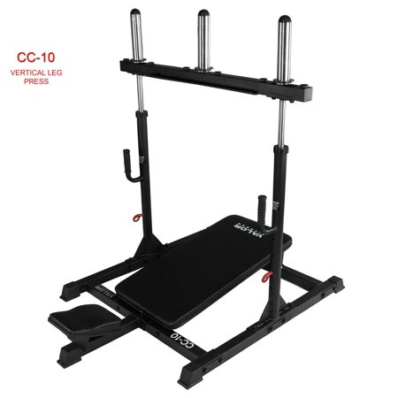 Valor CC-10 Vertical Leg Press - (Horizontal Leg Press Vs 45 Degree Leg Press)