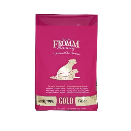 Fromm Gold Puppy Duck, Chicken, Lamb, Eggs & Cheese Puppy Dry Dog Food, 33 -