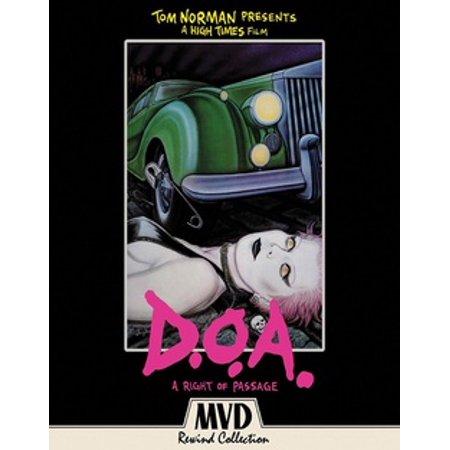 D.O.A.: A Rite of Passage (Blu-ray)