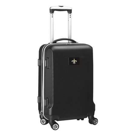 "New Orleans Saints 21"" 8-Wheel Hardcase Spinner Carry-On - Black"