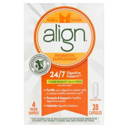 Align supplément probiotique capsules, 28 Count