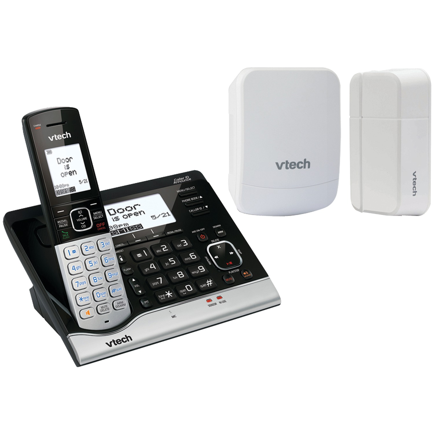 Vtech Vtvc7151-109 Wireless Home Monitoring System With Cordless Telephone