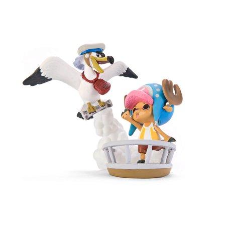 One Piece Sea Animals Chopper & News Koo PVC Figure