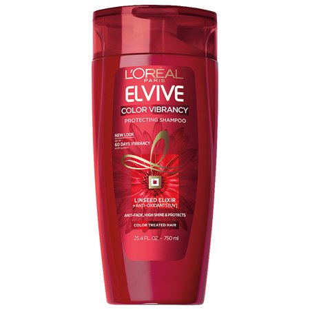 L'Oreal Paris Elvive Color Vibrancy Protecting Shampoo, 25.4 fl. (L Oreal Professional Colour Protect Shampoo Review)
