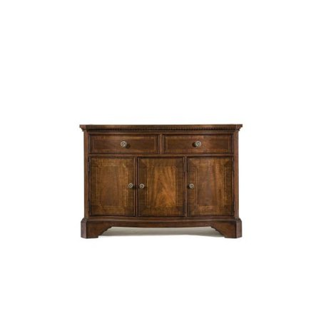 Legacy Classic Furniture American Traditions Credenza In Distressed Rich Cordovan Mahogany