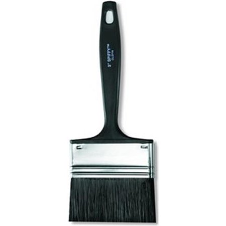 """Wooster 1"""" Flat Sash Polyester Paint Brush, Firm, for Latex Based, 1 EA   3114-1"""