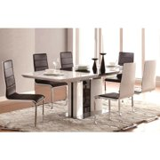 A Line Furniture Grandview Modern Black & White Dining Set
