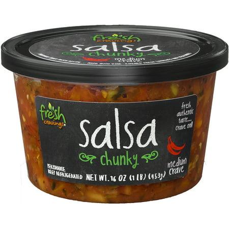 Fresh Cravings Medium Chunky Crave Salsa, 16 oz
