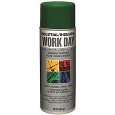 Krylon Spray Enamel  10 Oz  Can  Green