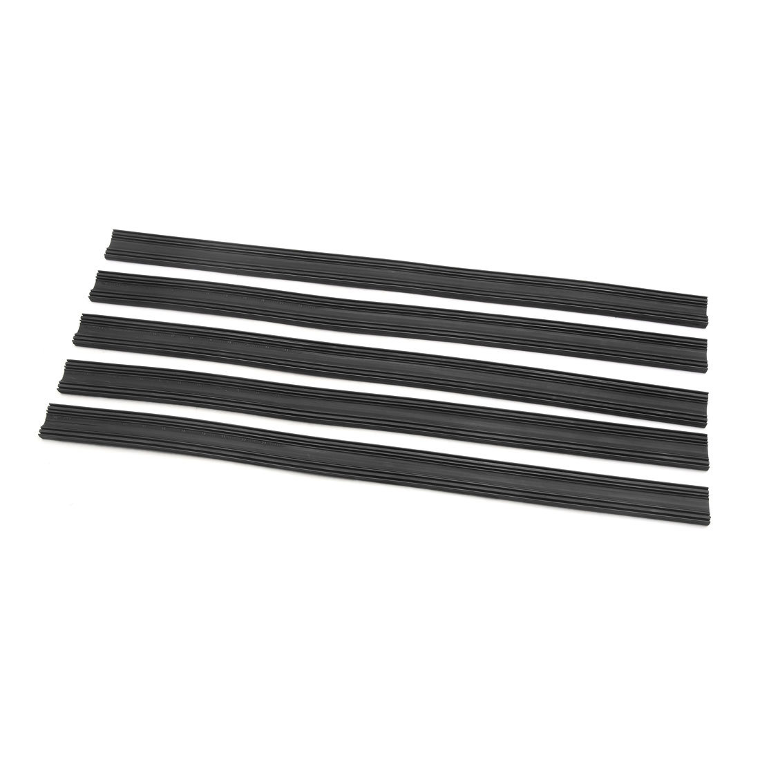 "5 Pair 400mm 16"" Car Windscreen Bracketless Wiper  Rubber Refill Strip"