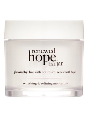 ($39 Value) Philosophy Renewed Hope In a Jar Refreshing & Refining Face Moisturizer, 2 Oz