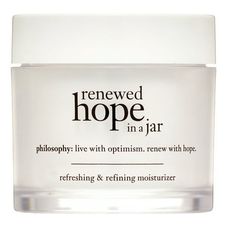 Philosophy Renewed Hope In a Jar Refreshing & Refining Face Moisturizer, 2 - Jar Moisturizer