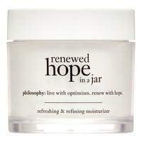 ($39 Value) Philosophy Renewed Hope In a Jar Refreshing & Refining Face Moisturizer, 2 Oz