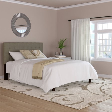 Mainstays Fabric Tufted Queen Size Headboard