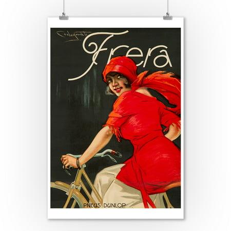 Frera Vintage Poster (artist: Codognato) Italy c. 1928 (9x12 Art Print, Wall Decor Travel (Codognato Poster)