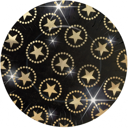 Hollywood 'Star Attraction' Extra Large Paper Plates (8ct)