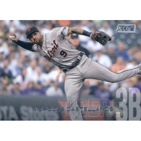 2018 Topps Stadium Club #87 Nicholas Castellanos Detroit Tigers Baseball Card - *GOTBASEBALLCARDS