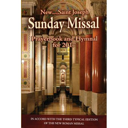 St. Joseph Sunday Missal and Hymnal for 2017