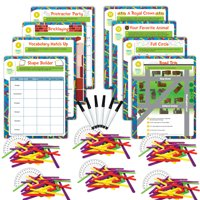EAI Education Hands-On Math Centers: Exploragons - Grade 4