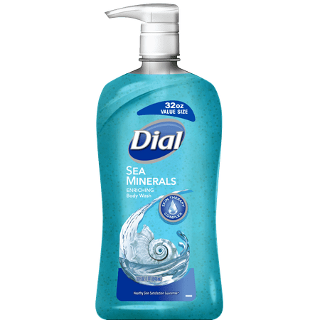 Dial Body Wash, Sea Minerals, 32 Ounce