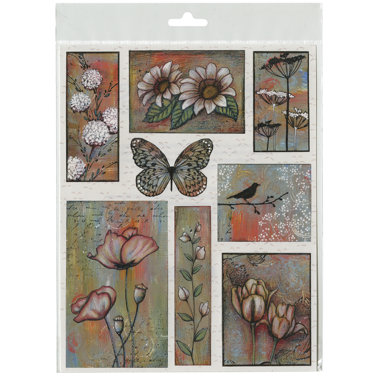Penny Black Stickers-Promise Of Spring