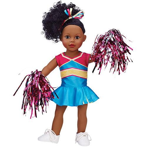 "My Life As Cheerleader 18"" Doll, African American"
