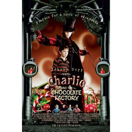Charlie And Chocolate Factory Costume (Charlie And The Chocolate Factory Poster - Johnny Depp New)