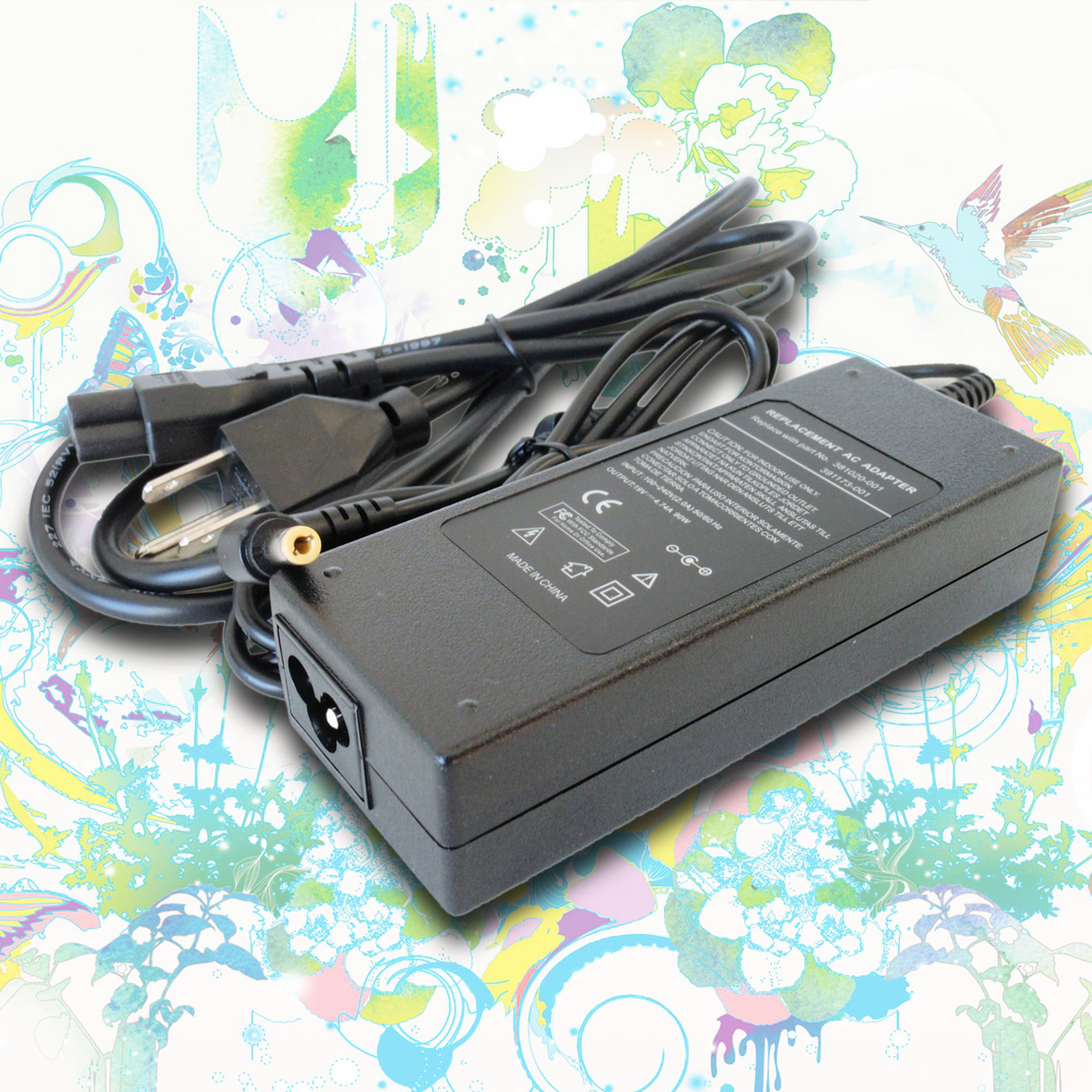 Power Charger Adapter Supply Cord for Toshiba Satellite L305-S5908 L305-S59512