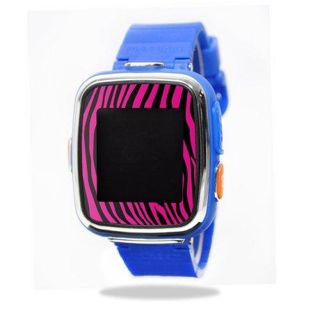 Mightyskins Protective Vinyl Skin Decal For Vtech Kidizoom Smartwatch Dx Wrap Cover Sticker Skins Pink Zebra