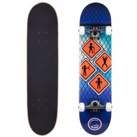 287125f44f12 Free shipping. Product Image Cal 7 Complete Skateboard, Popsicle Double  Kicktail Maple Deck, 7.5 x 31 inches,
