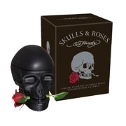 ED Hardy Skulls and Roses EDT Spray for Men, 2.5 Ounce