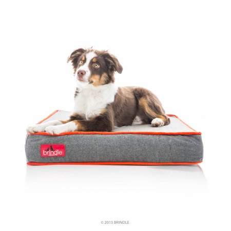 Brindle Memory Foam Dog Bed Large