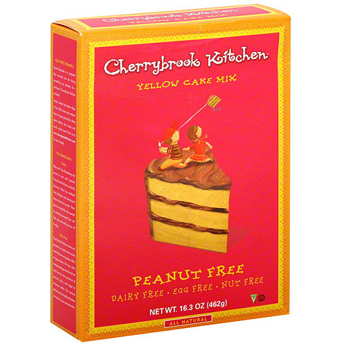 Cherrybrook Kitchen Yellow Cake Mix, 16.3 oz (Pack of 6)