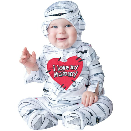 I Love My Mummy Toddler Costume - Homemade Mummy Costume Ideas
