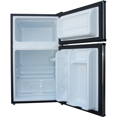 Sunpentown 3.1 Cu Ft Two Door Refrigerator RF-314SS, Steel