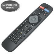 New Smart TV Remote Control for Philips Smart LED LCD HDTV TV with Netflix Vudu Youtube Keys 32PFL4902/F7 40PFL4901/F7 55PFL6902/F7