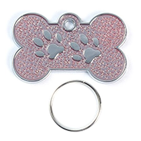 Fancyleo Dog ID Tag Free Engrave Name And Phone Number Customized Pet Tags  Personalized Bone Paw Name Tag Plate Collar Decoration