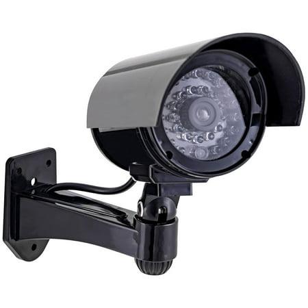 GE Decoy Surveillance Bullet Camera with Flashing Red Light, - Ge Interlogix Security
