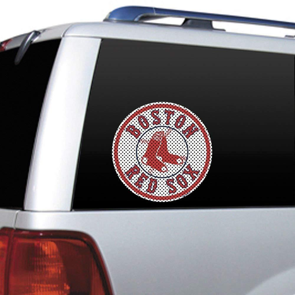 MLB Boston Red Sox Die Cut Window Film, Made in the USA By Fremont Die